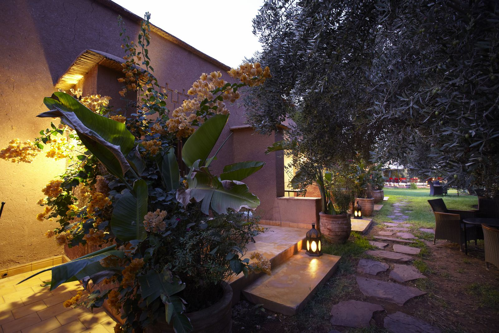 Le jardin dar 39 zarraba for Exterieur nuit